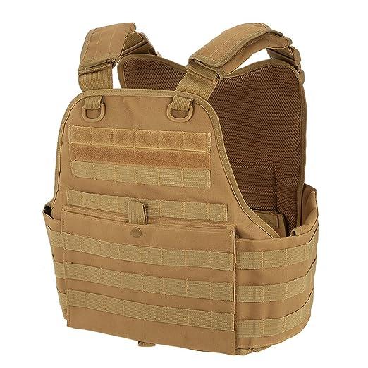 2 opinioni per Lixada Gilet Caccia Modulare Petto Rig Molle Gilet Caccia Gear Carrier Vest