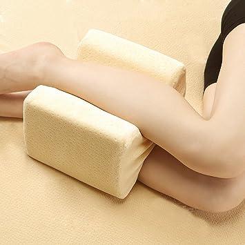 Rodilla almohada, presión alivio del dolor para espalda pierna cadera, embarazo – Posicionador cuña
