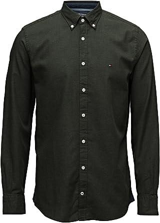 Tommy Hilfiger - Camisa Casual - para Hombre: Amazon.es: Ropa y accesorios