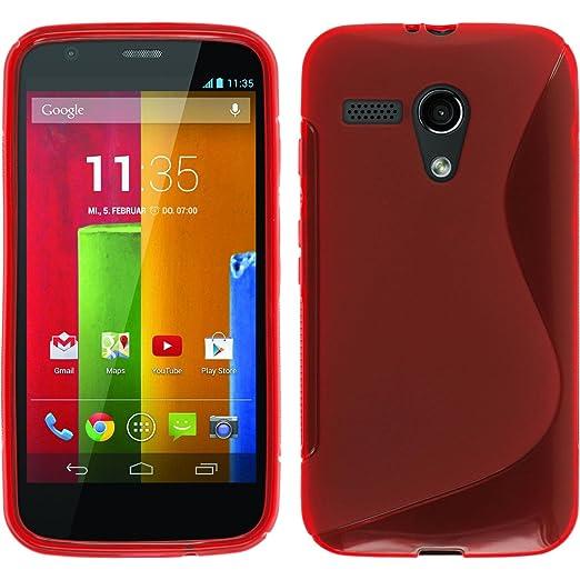 420 opinioni per PhoneNatic Custodia Motorola Moto G Cover rosso S-Style Moto G in silicone +