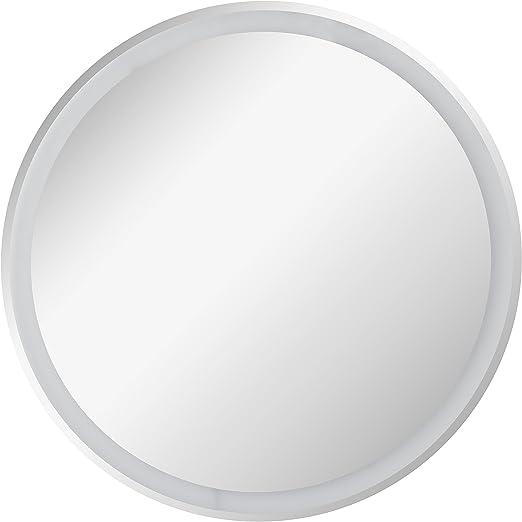 Fackelmann Led Spiegel Rund O 60 Cm Mirrors Wandspiegel Mit