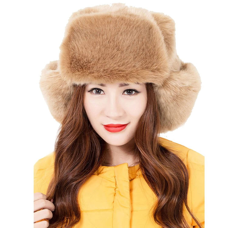 Jelinda® Plüsch Faux Pelz Warme Outdoor Ski Earflap Hat Cap