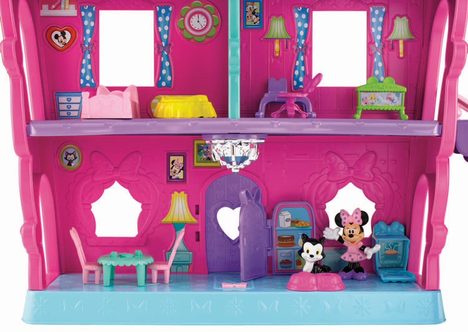 Buy Fisher Price Minnie Mouse   Minnies Bow Sweet Home Online At Low Prices  In India   Amazon.in