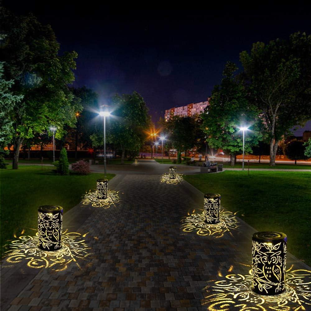 MMTX LED Luz Colgante Solar del Jard/ín Luces de Linterna L/ámpara Impermeable Port/átil para Jard/ín Patio al Aire Libre Partido Decorativo Farol Solar Exterior Jardin