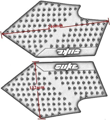 Motocicleta Pegatinas Tanque Pad de tracci/ón lateral Gas rodilla agarre 3M pantalla para Duke 390 2013-2016 para Duke 200//125