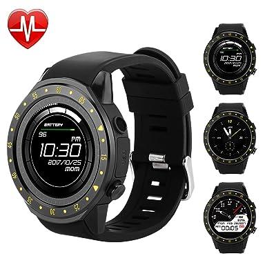 Bluetooth Smartwatch with Camera for Men Women Kids