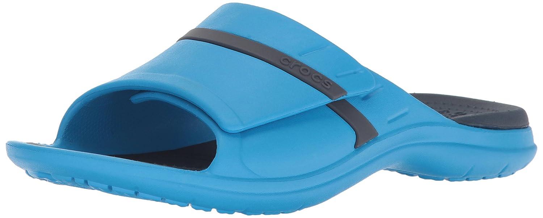 crocs Unisex Erwachsene Modi Sport Slide Zehentrenner blau