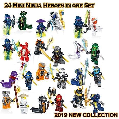 Amazon.com: Ninja Mega Royals Go - New 2019 Set - 24pcs of ...