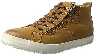 25205, Damen Hohe Sneakers, Braun (Chestnut 328), 42 EU Tamaris