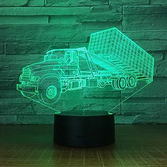 Wangzj 3D Nachtlicht | LED Licht | Kinderzimmer Nachtlicht
