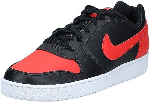 doble Sabio autor  Buy Nike Mens EBERNON Low Black Habanero RED White Size 9 at Amazon.in