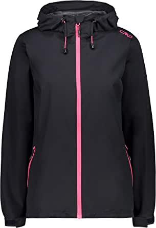 CMP Waterproof Rinstop Chaqueta Impermeable con Capucha Mujer
