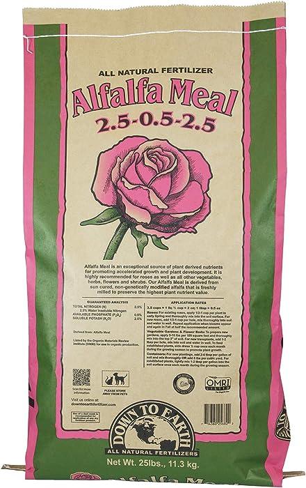 Top 10 Roses Food Alfafa