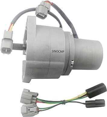 SINOCMP Throttle Control Lever for Kobelco SK200-6 Engine Part Excavator Throttle Lever 3 Month Warranty Throttle Control Lever