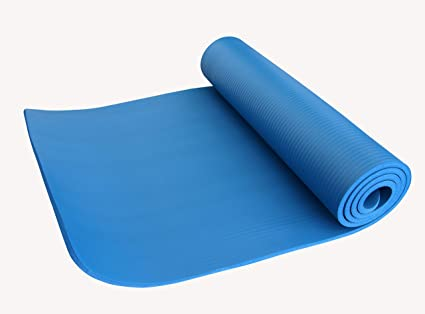 Nivia Yoga Mat - NBR 1 cm (Blue): Amazon.in: Sports, Fitness & Outdoors