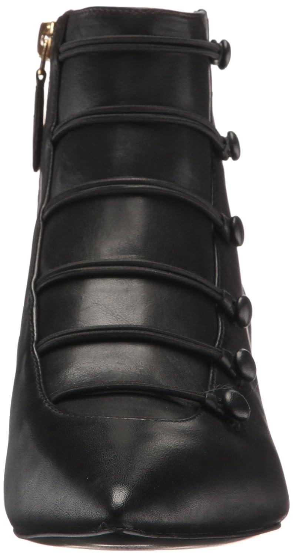 Nine West Boot Women's Zadan Leather Ankle Boot West B072FCX5JS 7.5 B(M) US|Black ea3fc6