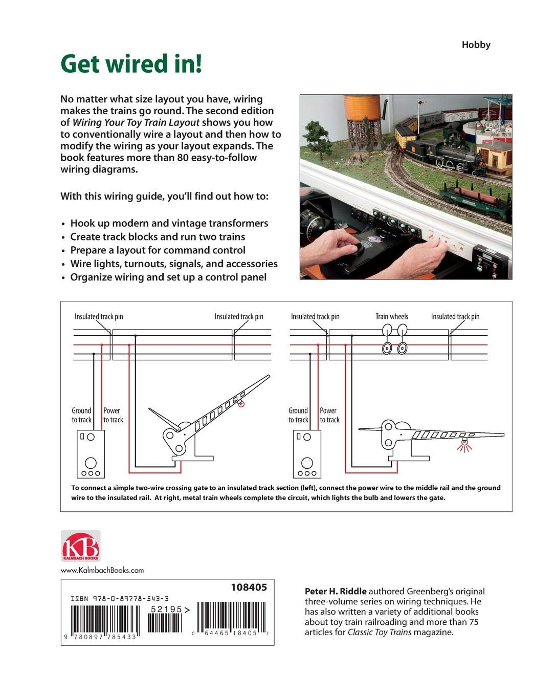 Wiring Your Toy Train Layout Peter H Riddle 9780897785433 Amazon Mth Trains Diagrams Books