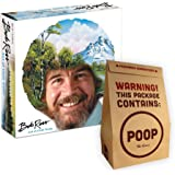 Bob Ross Art of Chill Game and Poop: The Game Gift Set, Two Board Game Bundle thats a Perfect Christmas Gift for Adults and Kids