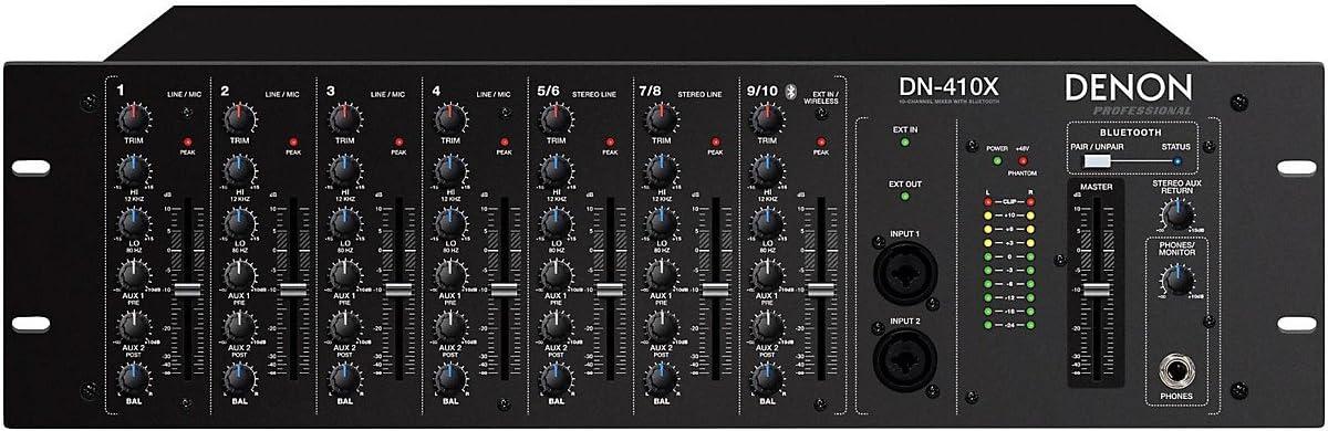 DENON DN410X Mezclador 10 Canales: Amazon.es: Instrumentos ...