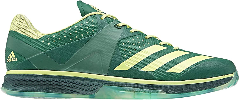 adidas Counterblast, Chaussures de Handball Homme Vert Verfue Seamhe Veruni 000