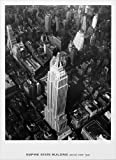 "Photo Poster Print ""Empire State Building, Aerial View, 1935, New York"" - Black & White (16""x22"")"