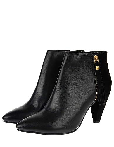 40 Bottes Femme Talons En Chaussures Accessorize À Cuir Zara