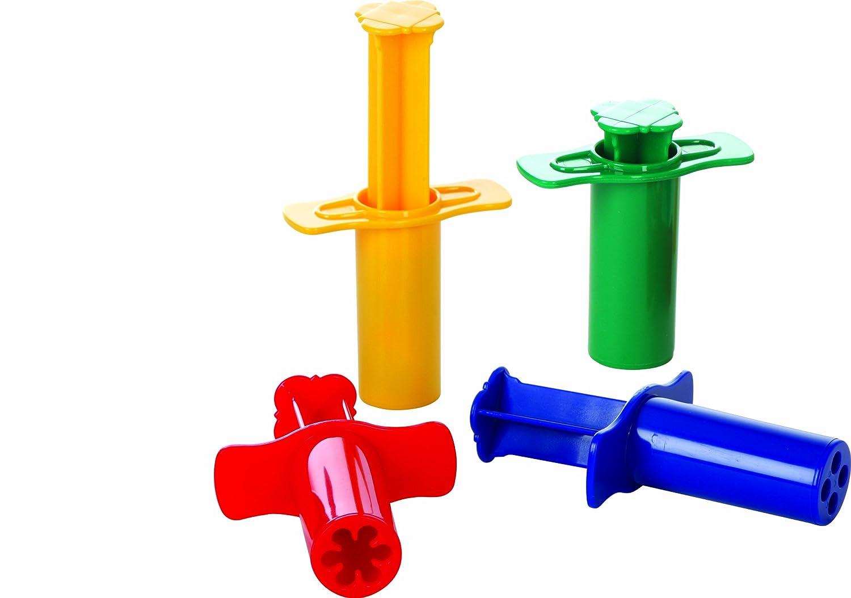 Gowi 185-10 Knetspritzen, Küchenspielzeug, 4-er Set: Amazon.de ...