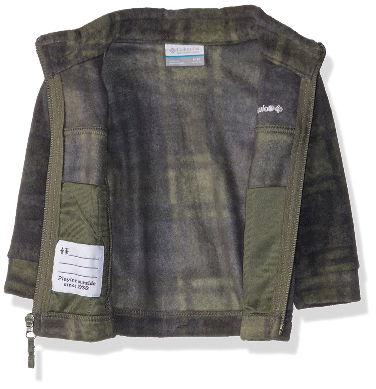 9a6dcdc8e353c Amazon.com: Columbia Unisex Baby Infant Zing III Fleece, Cypress Camo Plaid  3/6: Clothing