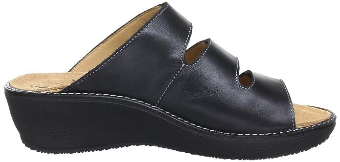 Ganter Gracia, Weite G 5-209227-01000, Damen Clogs & Pantoletten, Schwarz (schwarz 0100), EU 40 (UK 6.5)