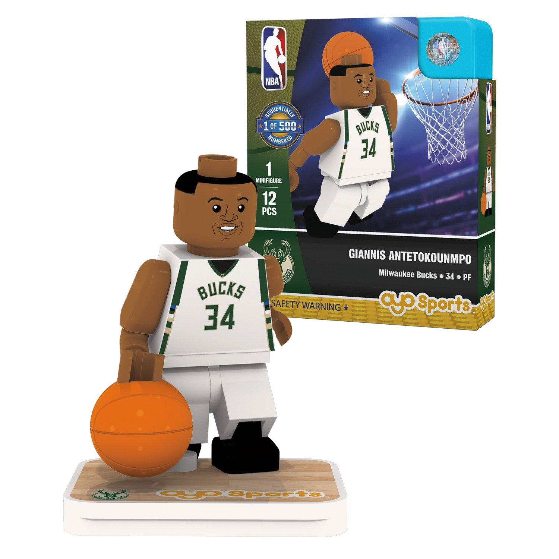 OYO Sports NBA Minifigure Milwaukee Bucks Giannis Antetokounmpo