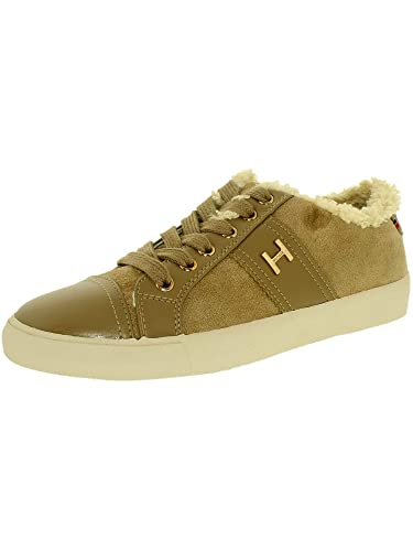 bcd9781132f6fc TOMMY HILFIGER Women s Irina 3 Walnut Sneaker 7 M  Buy Online at Low ...