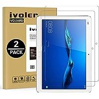 iVoler [2 Pack] Pellicola Vetro Temperato Huawei MediaPad M3 Lite 10, Pellicola Protettiva, Protezione per Schermo