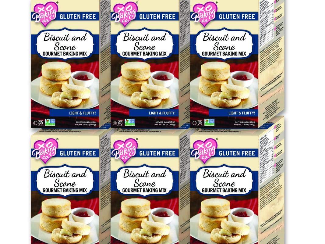 XO Baking Gourmet Biscuit & Scone Mix (Case of 6) by XO Baking Co.