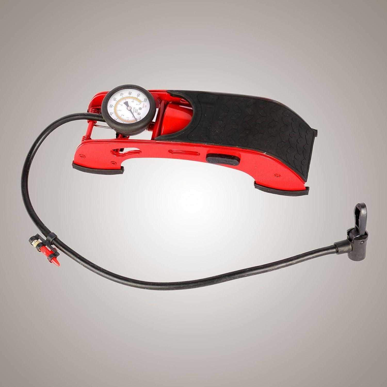 FANFAN Auto Moto Piede Ad Alta Pressione Pompa A Pedale Pompa Ad Aria Pompa Portatile Gonfiatore