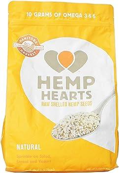 5Lb Raw Shelled Hemp Seeds