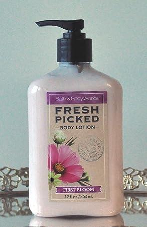 Bath Body Works Fresh Picked First Bloom Body Lotion 12 Oz.