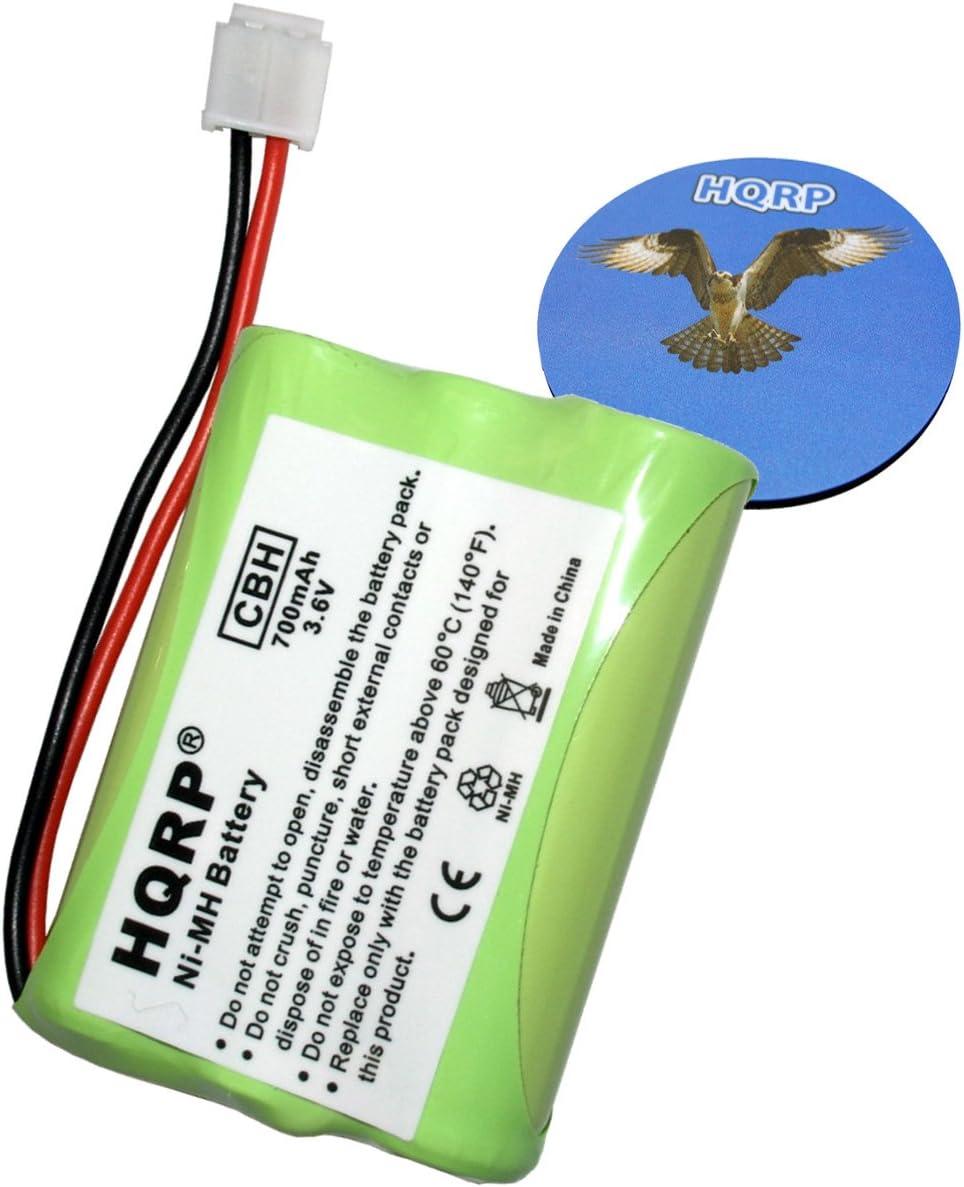 HQRP batería de teléfono inalámbrico para General Electric GE 5 – 2650/52650 Reemplazo Plus posavasos: Amazon.es: Oficina y papelería