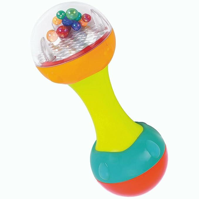 135d051b4c7 Fun Wee Set De Dos Sonajas Infantiles Musicales Telefono Movil Y Maracas  Con Colores Y Sonidos Para Bebes Ni: Amazon.in: Toys & Games