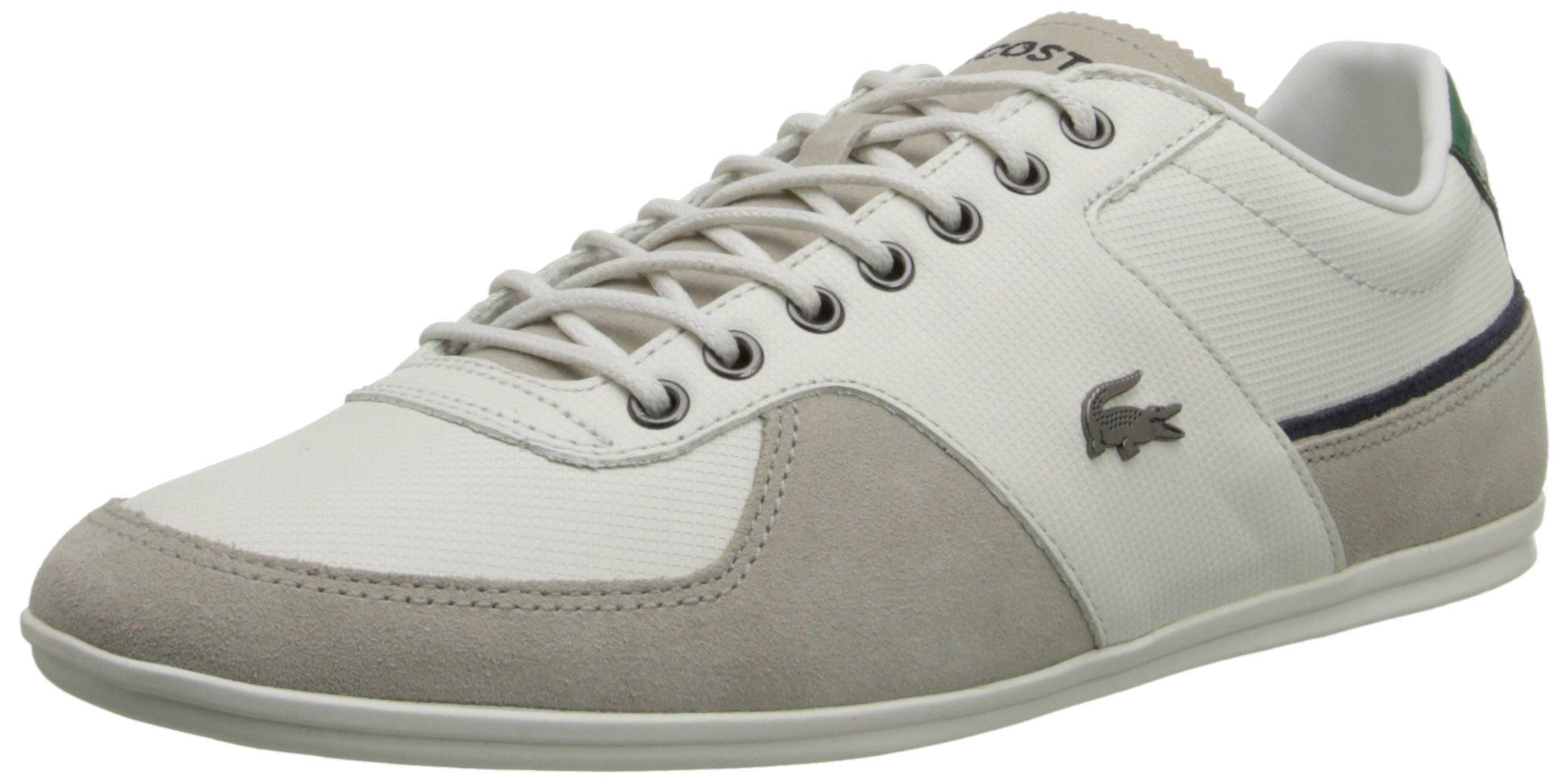 Lacoste Men's Taloire 15 Fashion Sneaker, Off White, 12 M US