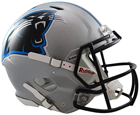 Image Unavailable. Image not available for. Color  Riddell Carolina  Panthers NFL Replica Speed Mini Football Helmet cdd53aab6