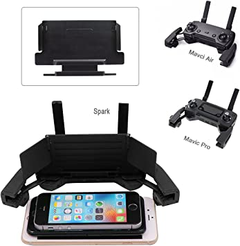 4 - 6 Pulgadas Smartphone Monitor Sun Hood Sunshade para dji Mavic Pro / Mavic 2 Zoom/ Mavic