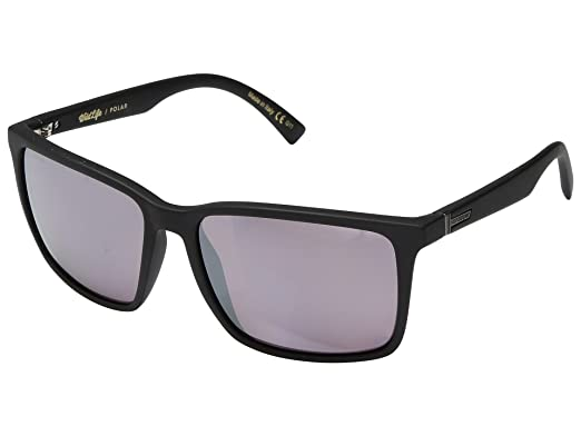 3736b92647 Image Unavailable. Image not available for. Color  VonZipper Lesmore  Sunglasses Matte Black with Wildlife Rose Polarized Lens