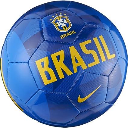 Nike Brasil CBF - Balón de fútbol (4): Amazon.es: Deportes y aire ...