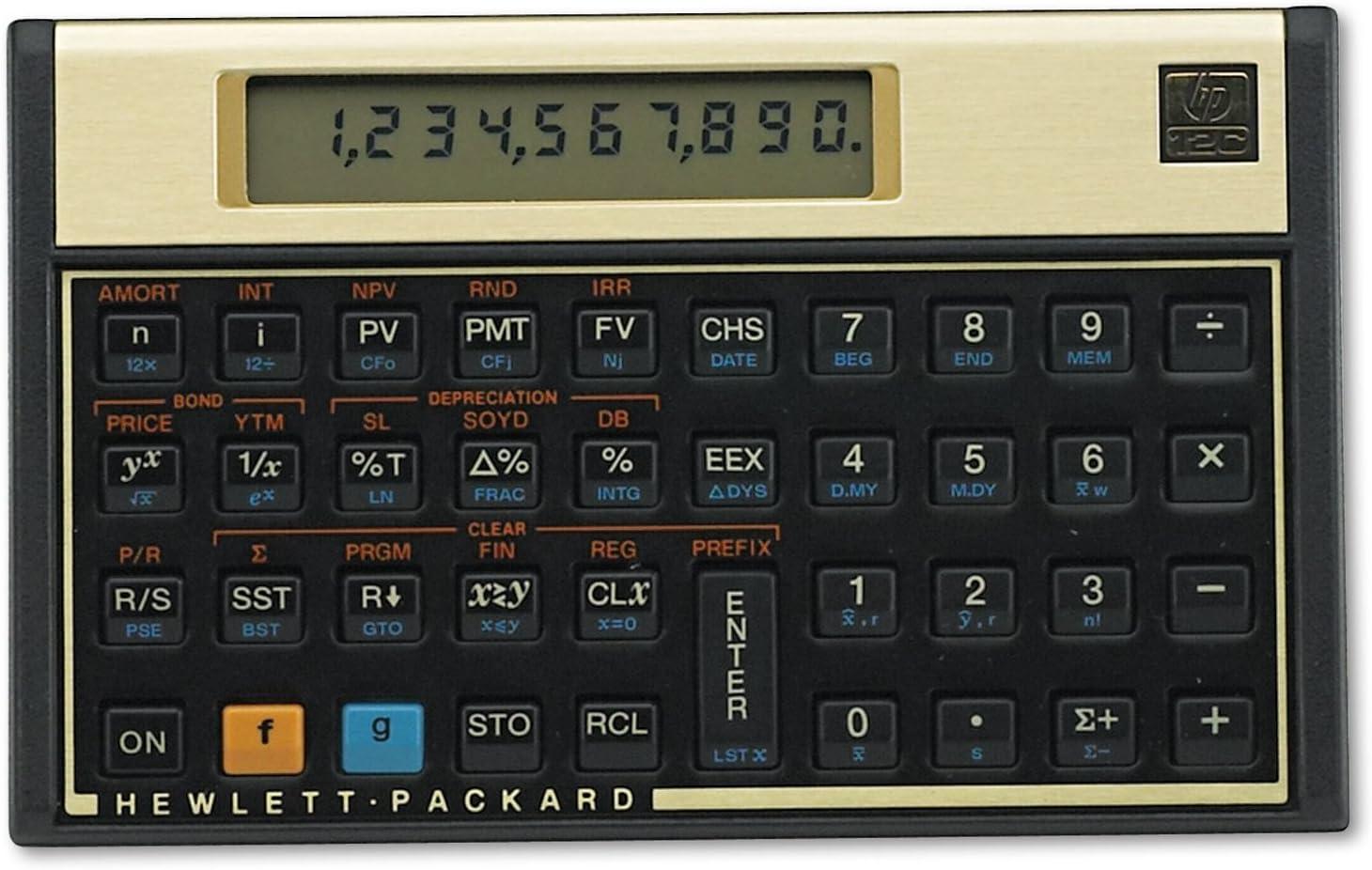 HEW12C - HP 12C Financial Calculator