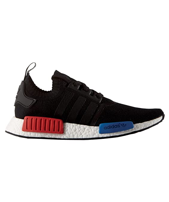 buy popular 18705 26b5e Adidas NMD R1 PK Primeknit OG - Core BlackCore BlackLush Red Trainer  Amazon.co.uk Shoes  Bags