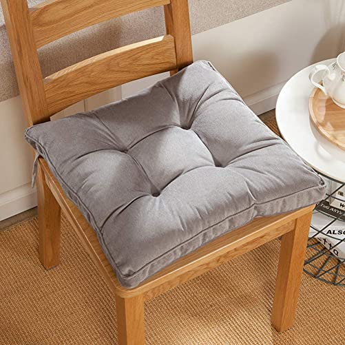 Square Solid Floor Pillow Futon Papasan Patio Seat Cushion Reversible Chair Cushion