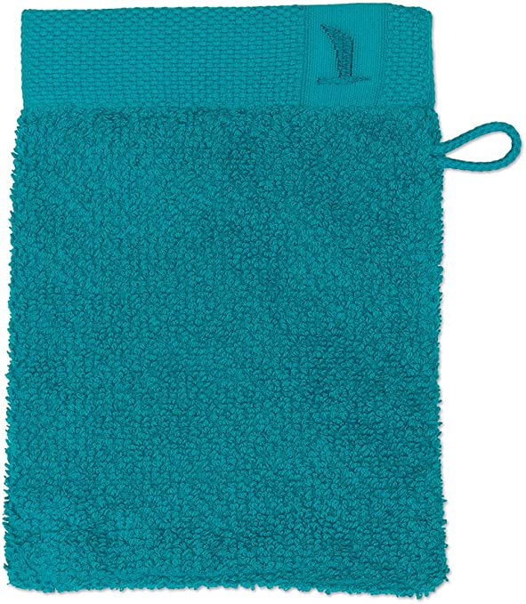 Möve New Essential Uni Manopla de baño, algodón, Verde Esmeralda ...