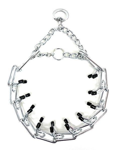 Amazon Com Dog Training Obedience Choke Chain Spike Collar Pit
