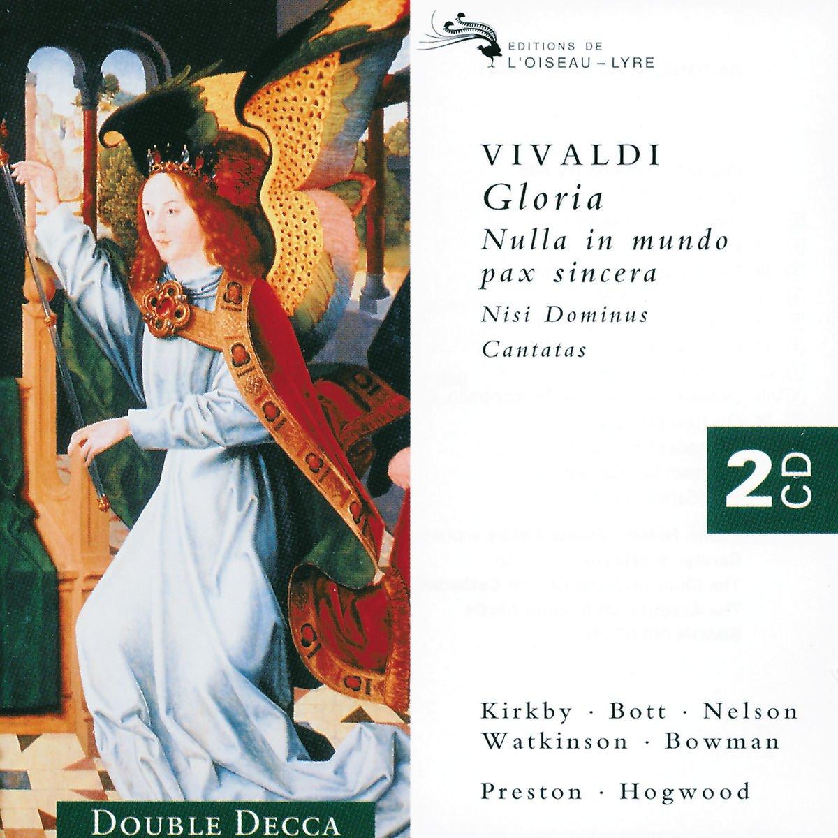 Vivaldi : Gloria (Nulla in mundo pax sincera): Amazon.co.uk: Music