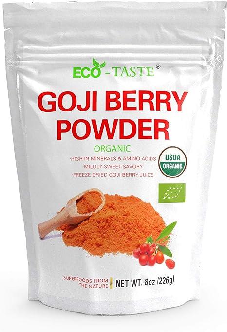 Amazon Com Organic Goji Berry Powder 8 Ounce Freeze Dried